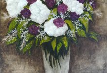 Hydrangea with Carnations